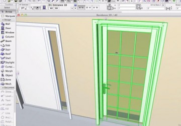 Door inside ARCHICAD