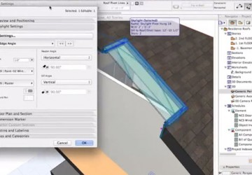 Modeling Skylights in ARCHICAD