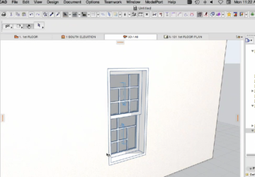 Windows and Doors in ARCHICAD