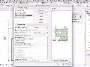 Renovation in ARCHICAD