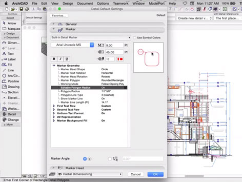 Details in ARCHICAD