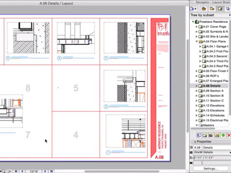 Layout Book in ARCHICAD