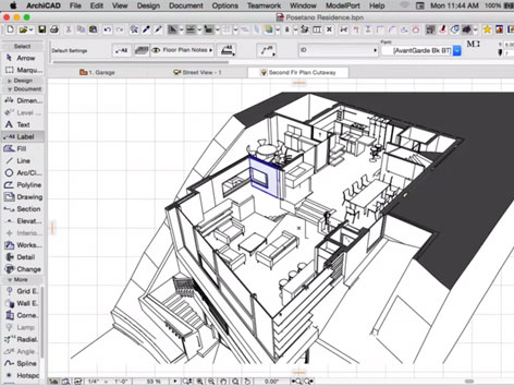 3D-Views in ARCHICAD
