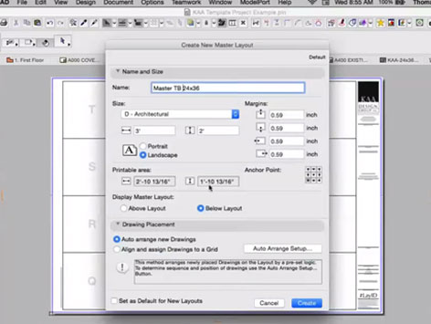 ARCHICAD Layouts
