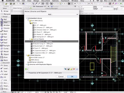 ARCHICAD Library Management
