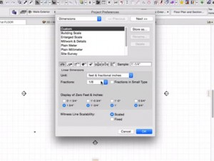 Project Preferences in ARCHICAD