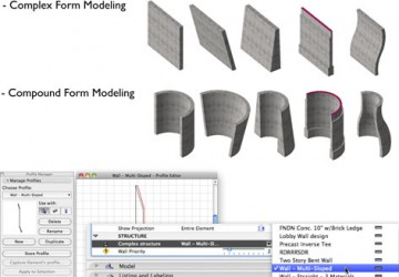 Complex Forms in ARCHICAD