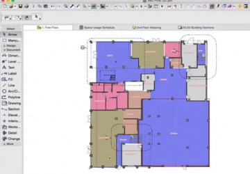 Space Planning in ARCHICAD
