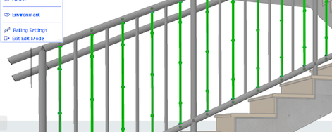 Creating Custom Railings