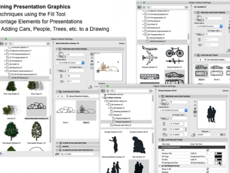 Presentation Drawings in ARCHICAD
