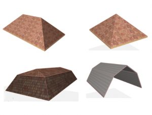 Roof Designs in Archicad