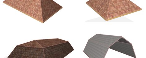 Modeling Roof Designs for Residential