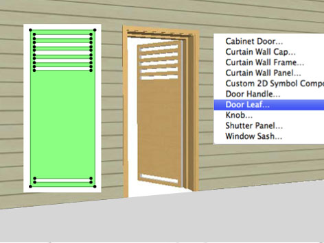 Custom Door in ARCHICAD