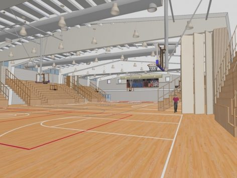 Gymnasiums in ARCHICAD